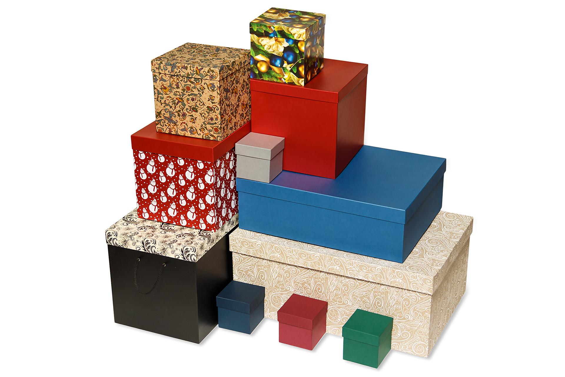 Оформление коробок
