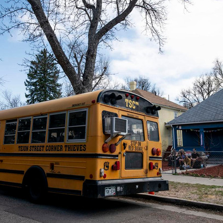 Colorado band keeps live shows rolling during outbreak with a school bus
