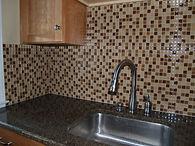 Winston Salem Glass Tile Kitchen Backsplash