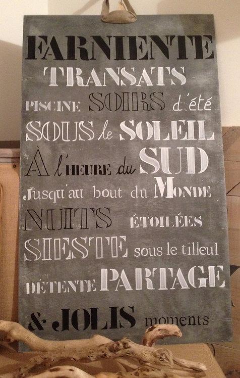 Côté terrasse