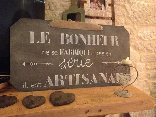 Bonheur artisanal