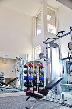 Apartment Clubhouse Gym