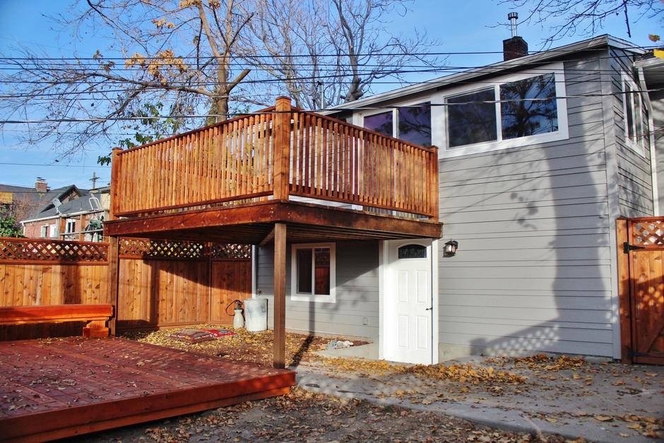 Sugarhouse - Backyard After