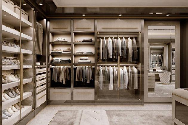 Walk-in-closet light