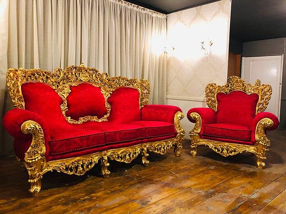 redluxury seating area
