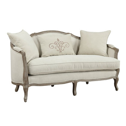 Settee with Reversible Cushions