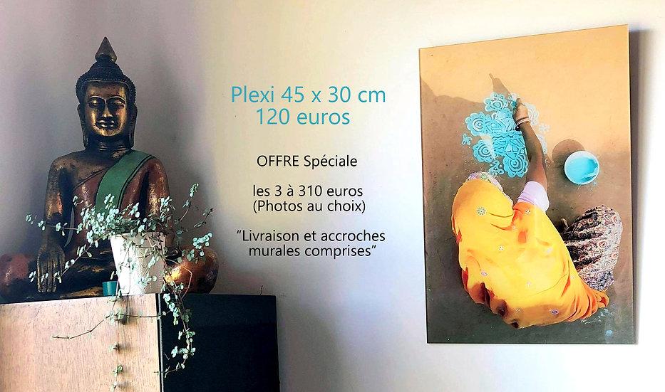 Photo plexi 30 x 45 cm (OFFRE SPECIALE : 3 TIRAGES au choix 310 euros)