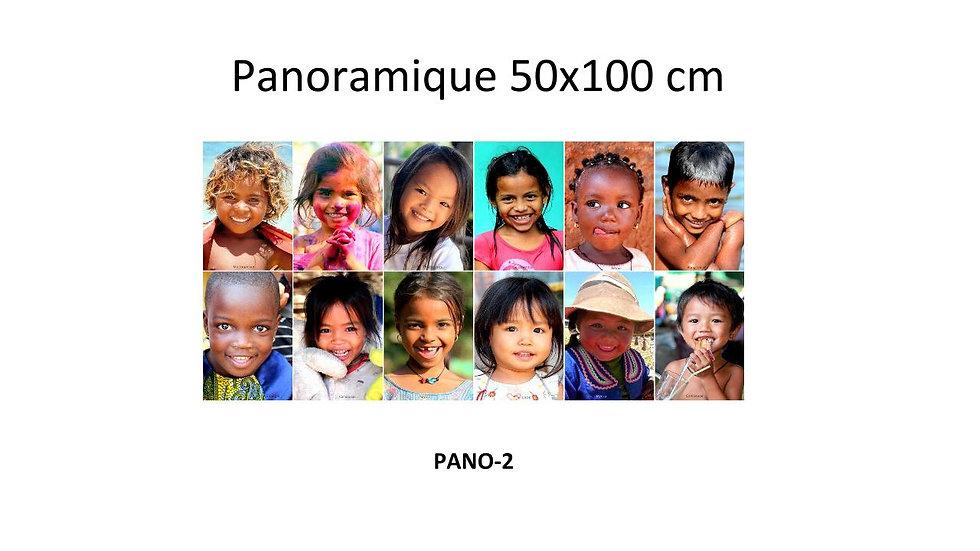 Panoramique (50X100 cm - sans cadre)