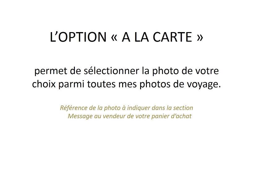 Tirage Photo (poster) 45 x 30 cm OFFRE SPECIALE : 3 Photos au choix 95 Euros
