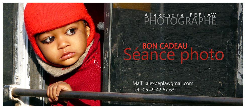BON CADEAU SÉANCE PHOTO