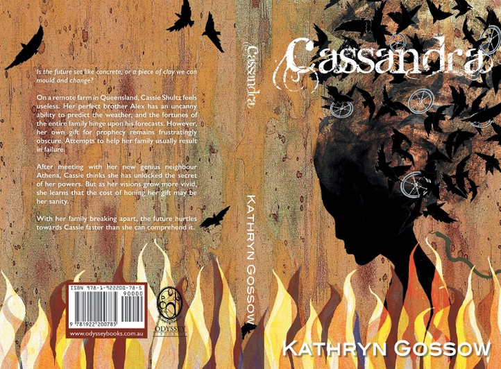 Book cover art for 'Cassandra' by Kathryn Gossow