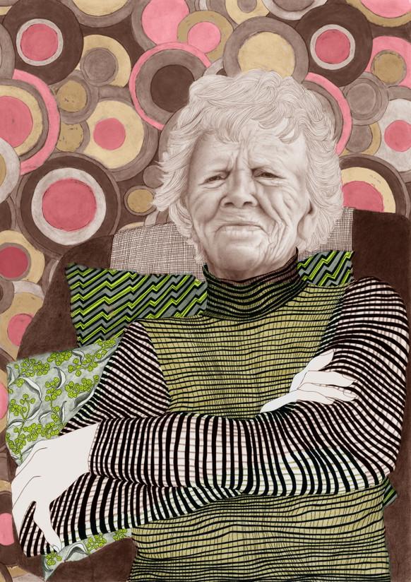 Gracie - nearly 105