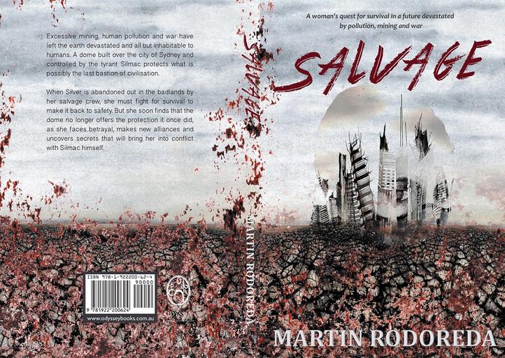 Book cover art for 'Salvage' by Martin Rodoreda