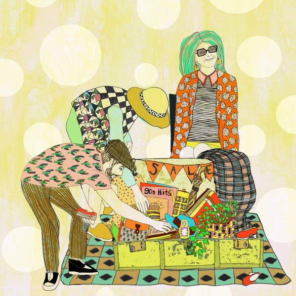 Ilustration for suitcase rummage poster