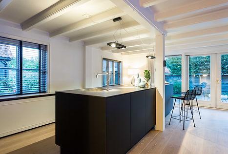 Fenix zwart BAX keuken | Duitse design keuken