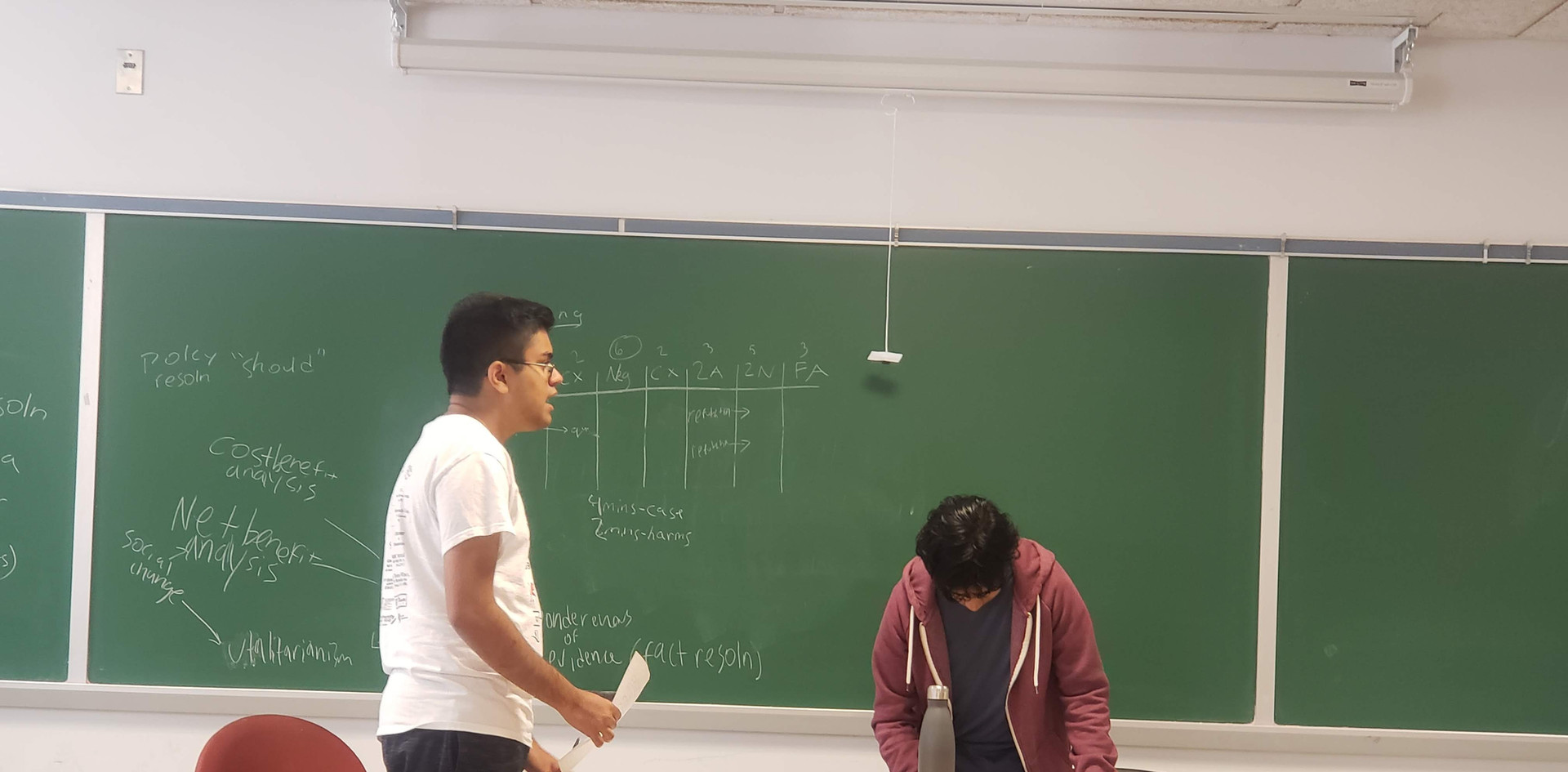 Debate Practice Session
