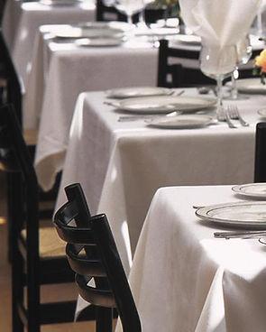 Millken White Tableclothes