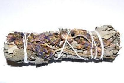 "White Sage & Purple ""Royal"" Lavender Flower"