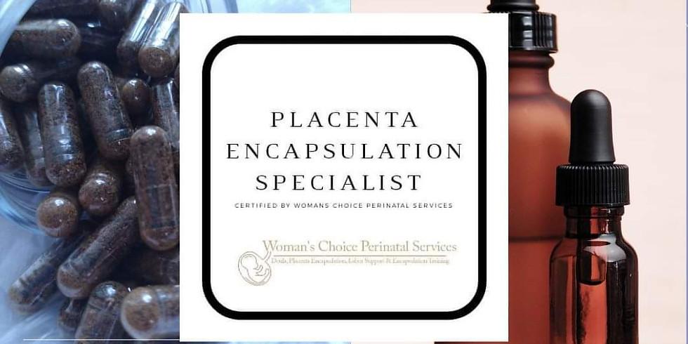 Placenta Encapsulation Training w/ Britnei
