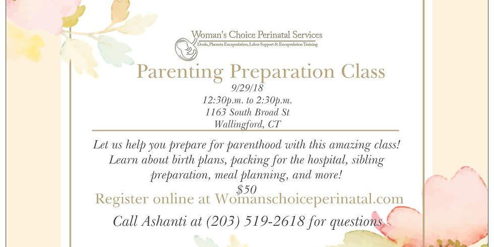 Parent Preparation Class