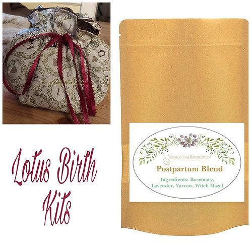 Lotus Birth or Sitz Bath Kit