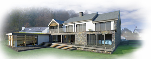 EXTENSIONS AND REMODELLING TO DWELLING IN A NATIONAL PARK