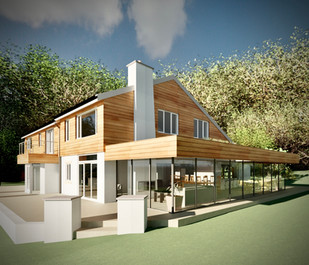 EXTENSION TO DWELLING IN GREEN BELT