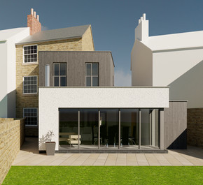 CONTEMPORARY EXTENSION TO GRADE II LISTED BUILDING