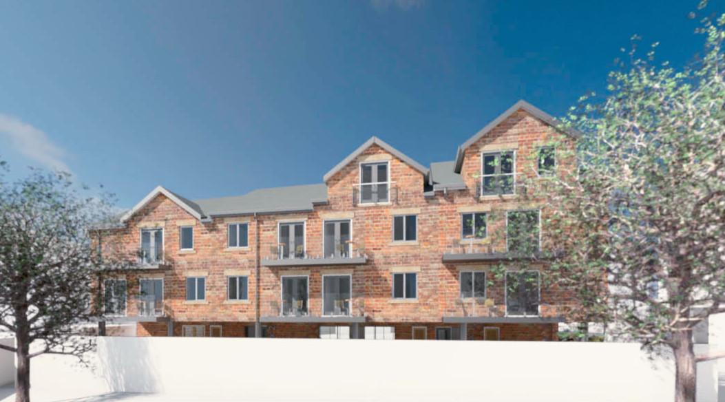 Apartment Scheme by Elliott Architecture