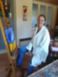 Nathalie Sabourin, cours de peinture à Niort Magné