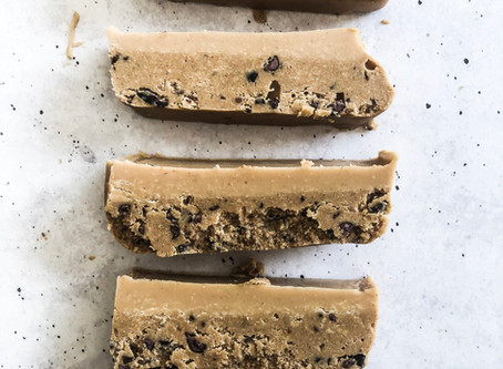 Peanut Butter Cookie Dough Slice Recipe
