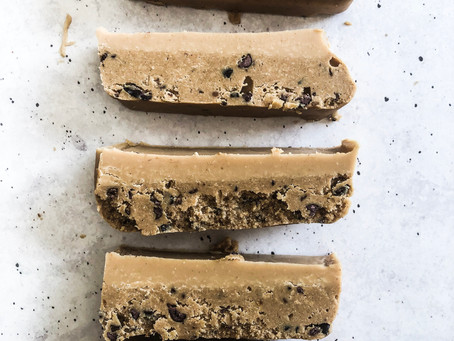 Peanut Butter Cookie Dough Slice Recipe