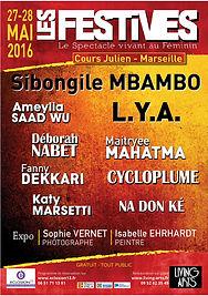 Affiche 2016 Les Festives Eclosion13 Marseille