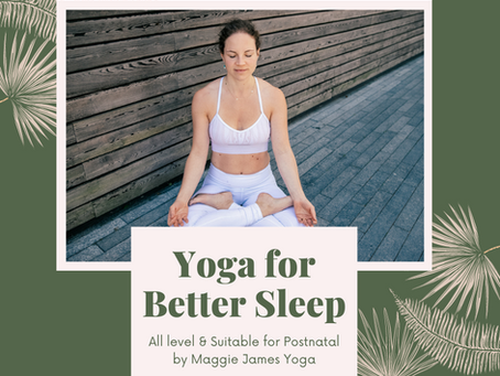 5 Tips + a Yoga Class for Quality Sleep (or what #selflove actually looks like)