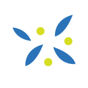WorkBook_Assets_Blue - Grn Dots & Leaves