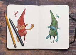 Marion_Creative_Freelancer_Christmas_Sketch