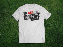 T-Shirt ADPFest-V3-White