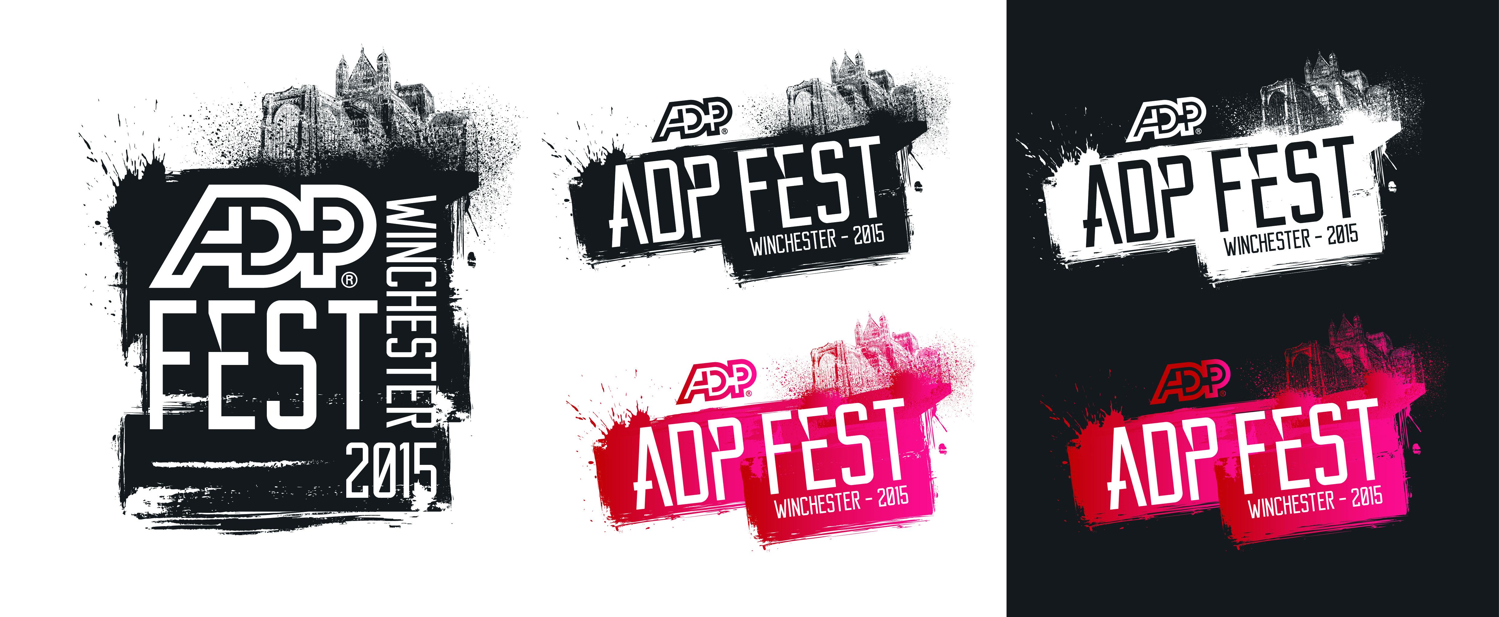 ADP festival logo-Design