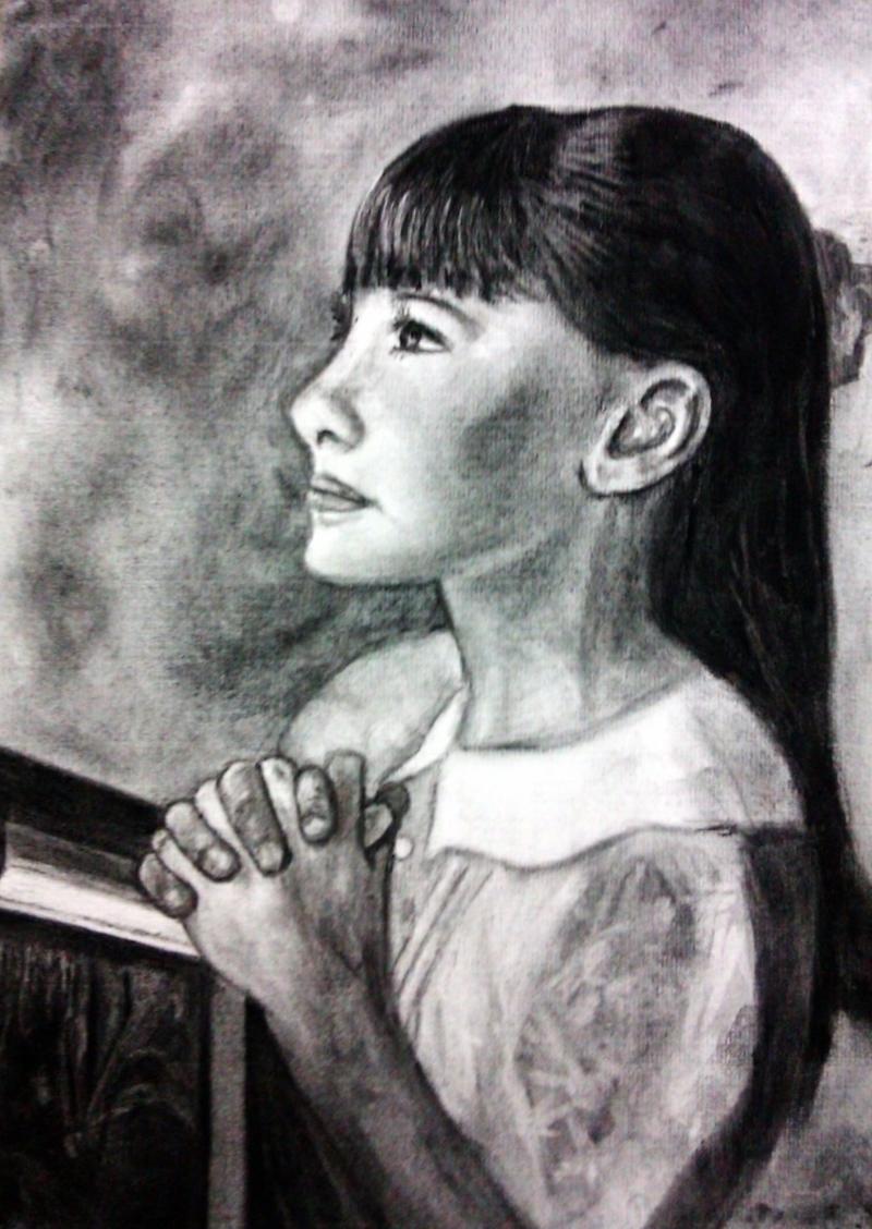 少女的祈禱