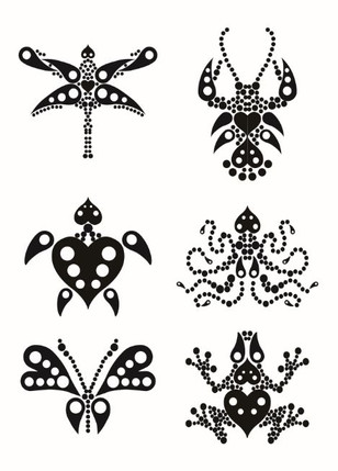 Symmetric graphs of insect