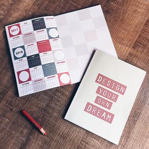 2017-2018 Notebook Design