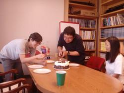 Lab birthday party