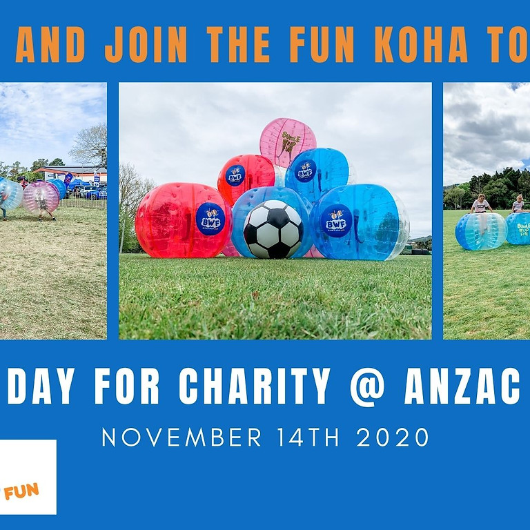 BWF Day for Charity @ Anzac park