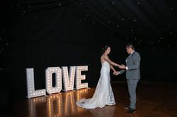 1m LOVE sign