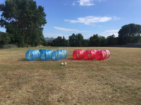 School Bubble Soccer