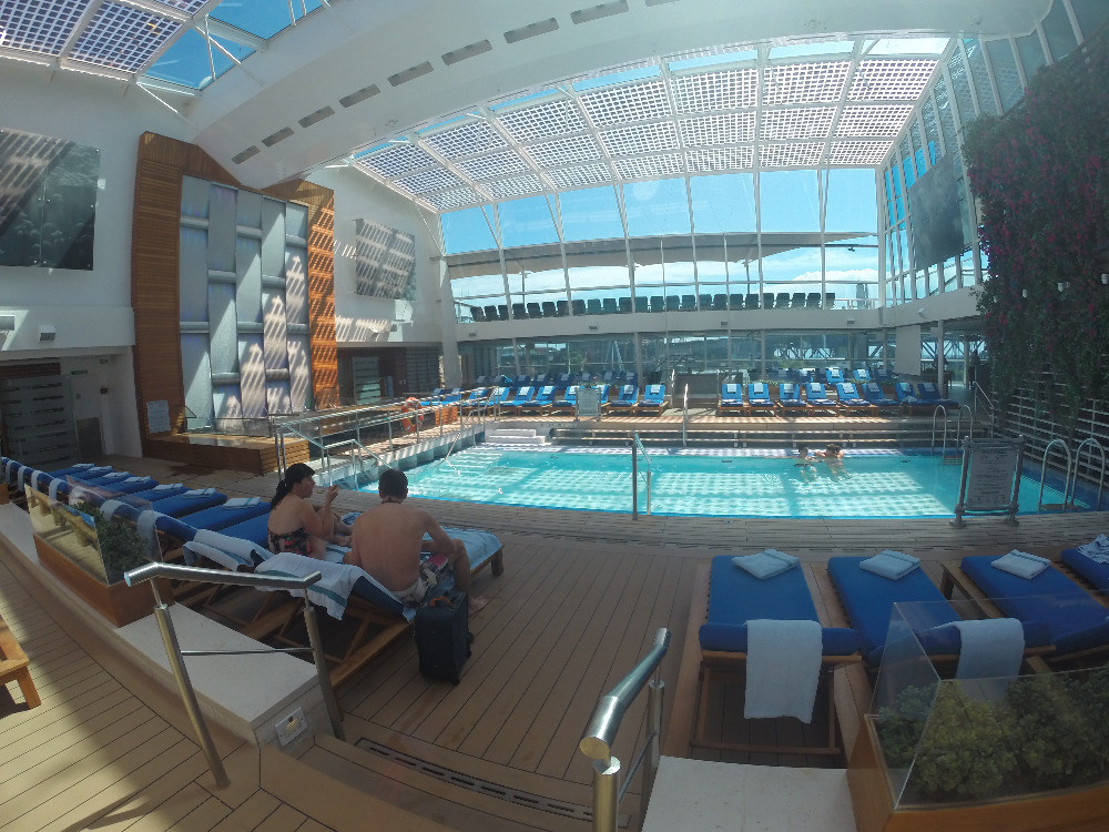 Indoor Pool on Celebrity Solstice Cruise Ship