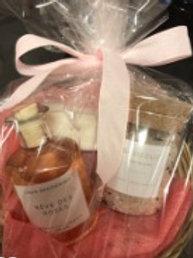Geschenkpakket badolie + badzout