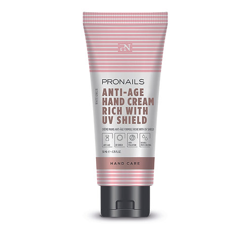 Anti-Age Hand Cream with UV Shield (50ml of in pomp 300ml)