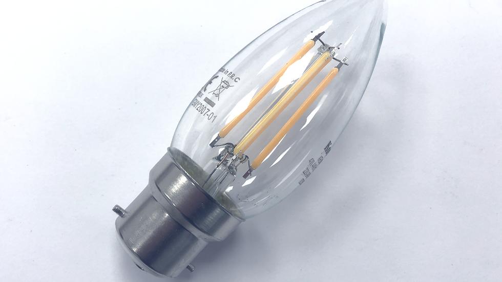 LED - Candle Filament 5w BC