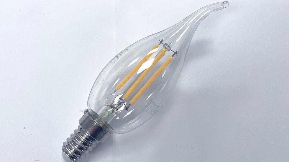 LED - Candle Filament Bent Tip 5w SES